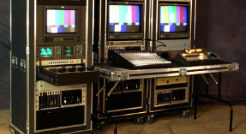 HD1 Live Mobile Productions - Flypack and Vehicle Production Truck, OB Van and Flypack